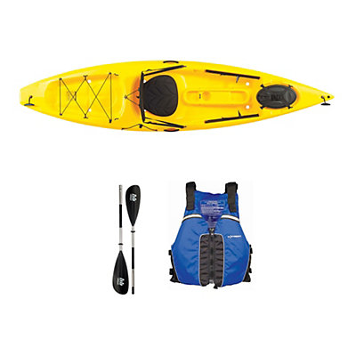 Ocean Kayak Tetra 10 Yellow Kayak - Sport Package 2016, Blue, viewer
