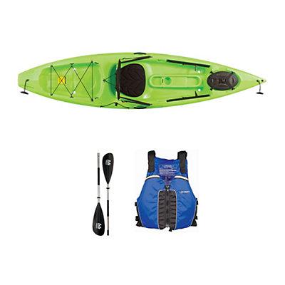 Ocean Kayak Tetra 10 Envy Green Kayak - Sport Package 2016, Blue, viewer