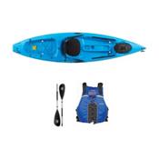 Ocean Kayak Tetra 10 Surf Blue Kayak - Sport Package, Blue, medium