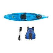 Ocean Kayak Tetra 12 Surf Blue Kayak - Sport Package 2016, Blue, medium