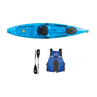 Ocean Kayak Tetra 12 Surf Blue Kayak - Sport Package 2016, , viewer