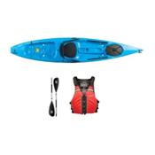 Ocean Kayak Tetra 12 Surf Blue Kayak - Sport Package 2016, Red, medium