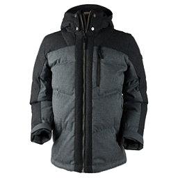 Obermeyer Gamma Down Mens Jacket, Charcoal, 256