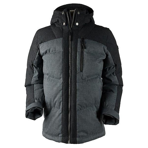 Obermeyer Gamma Down Mens Jacket, Charcoal, 600