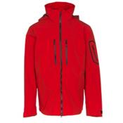 Obermeyer Supernova Mens Shell Ski Jacket, Red, medium