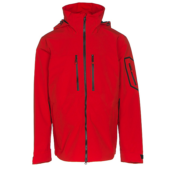 Obermeyer Supernova Mens Shell Ski Jacket, Red, 600