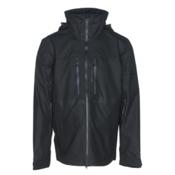 Obermeyer Supernova Mens Shell Ski Jacket, Black Deboss, medium