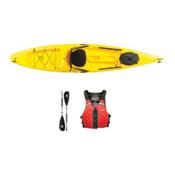 Ocean Kayak Tetra 12 Yellow Kayak - Sport Package 2016, Red, medium