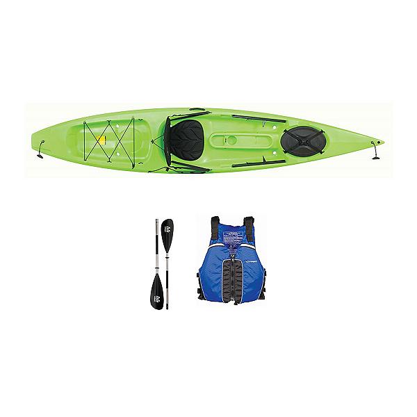 Ocean Kayak Tetra 12 Envy Green Kayak - Sport Package 2016, , 600