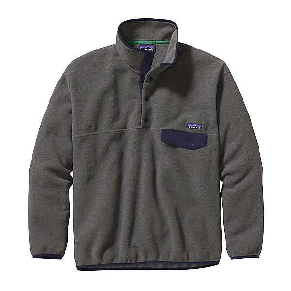Patagonia Synchilla Snap-T Mens Mid Layer, Nickel-Navy Blue, 600