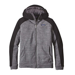 Patagonia Insulated Better Sweater Hoody Mens Jacket, Nickel-Black, 256