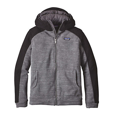 Patagonia Insulated Better Sweater Hoody Mens Jacket, Nickel-Black, viewer