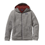 Patagonia Insulated Better Sweater Hoody Mens Jacket, Stonewash-Cinder Red, medium