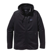 Patagonia Tech Fleece Mens Hoodie, Black-Black, medium