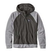Patagonia Micro D Fleece Mens Hoodie, Forge Grey, medium