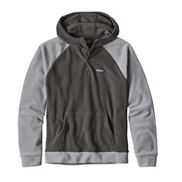 Patagonia Micro D Fleece Mens Hoodie, Forge Grey, 256