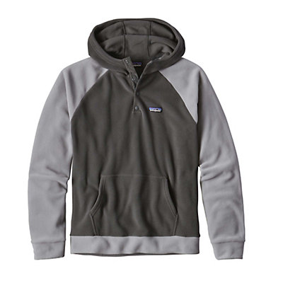 Patagonia Micro D Fleece Mens Hoodie, Glass Blue, viewer