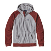 Patagonia Micro D Fleece Mens Hoodie, Light Feather Grey, medium