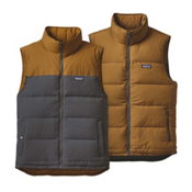 Patagonia Reversible Bivy Down Mens Vest, Forge Grey, medium