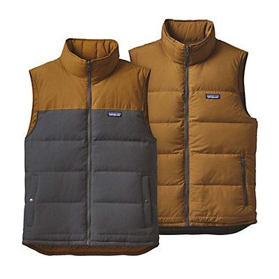 Patagonia Reversible Bivy Down Mens Vest, Forge Grey, viewer