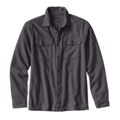 Patagonia Fjord Mens Flannel Shirt, Forge Grey, medium