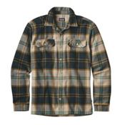 Patagonia Fjord Flannel Shirt, Sugar Pine-El Cap Khaki, medium