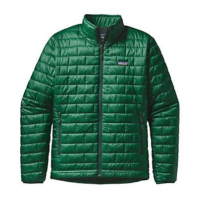Patagonia Nano Puff Mens Jacket, Legend Green, viewer