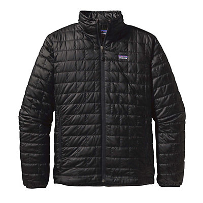 Patagonia Nano Puff Jacket, Black, viewer