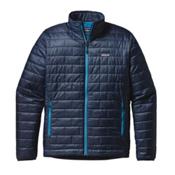 Patagonia Nano Puff Jacket, Navy Blue, medium