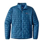 Patagonia Nano Puff Mens Jacket, Big Sur Blue, medium