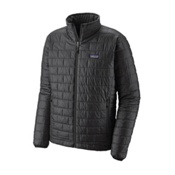 Patagonia Nano Puff Mens Jacket, Forge Grey, medium