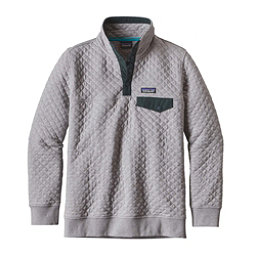Patagonia Cotton Quilt Snap-T Pullover Womens Mid Layer, Drifter Grey, 256