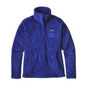 Patagonia Re-Tool Snap-T Fleece Pullover Womens Mid Layer, Harvest Moon Blue-Harvest Moon, medium