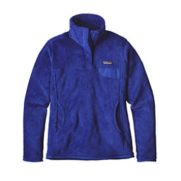 Patagonia Re-Tool Snap-T Fleece Pullover Womens Mid Layer, Harvest Moon Blue-Harvest Moon, 256
