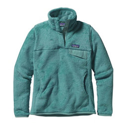 Patagonia Re-Tool Snap-T Fleece Pullover Womens Mid Layer, Mogul Blue-Mogul Blue X Dye, 256