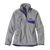Patagonia Re-Tool Snap-T Fleece Pullover Womens Mid Layer, Tailored Grey-Nickel X Dye-Har, medium