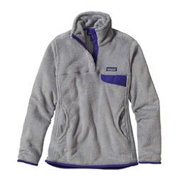 Patagonia Re-Tool Snap-T Fleece Pullover Womens Mid Layer, Tailored Grey-Nickel X Dye-Har, 256