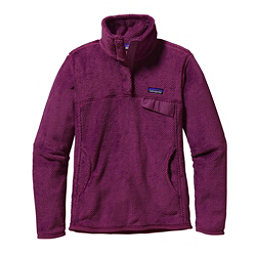 Patagonia Re-Tool Snap-T Fleece Pullover Womens Mid Layer, Violet Red-Violet Red X Dye, 256