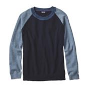 Patagonia Loislee Crew Womens Sweater, Navy Blue, medium