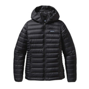 Patagonia Down Sweater Hoody Womens Jacket, Black, medium