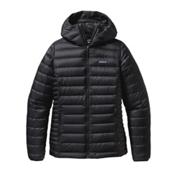 Patagonia Down Sweater Hoody Womens Jacket, Black, medium