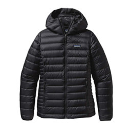 Patagonia Down Sweater Hoody Womens Jacket, Black, 256