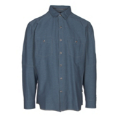 KUHL Renegade Long Sleeve Mens Shirt, Pirate Blue, medium