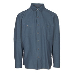 KUHL Renegade Long Sleeve Mens Shirt, Pirate Blue, 256