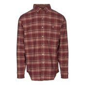 KUHL The Independent Mens Flannel Shirt, Brick, medium
