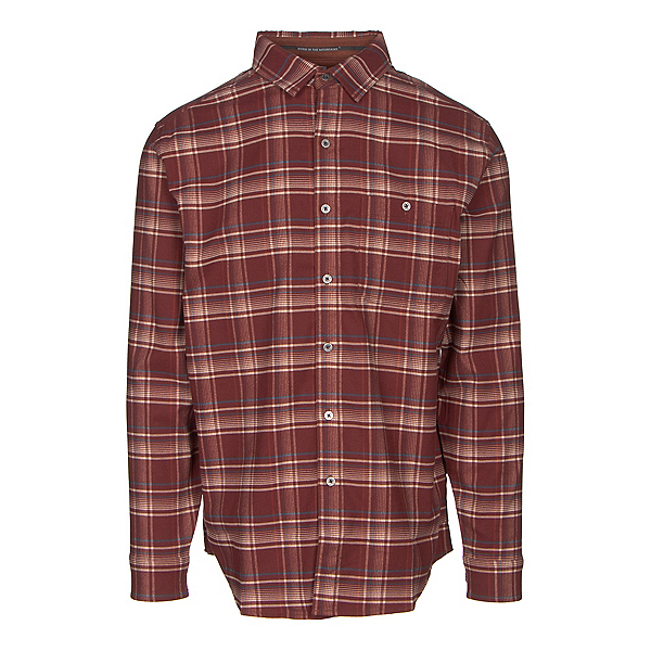 KUHL The Independent Mens Flannel Shirt, Brick, 600