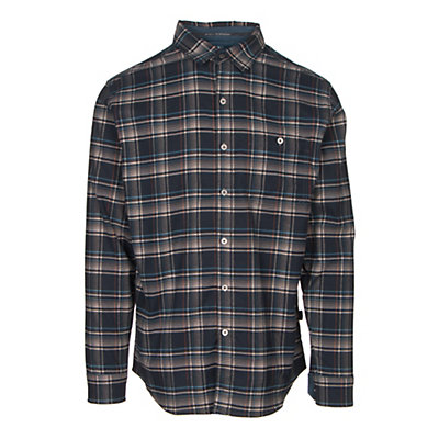 KUHL The Independent Mens Flannel Shirt, Brick, viewer