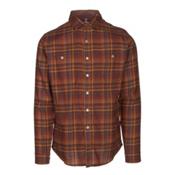 KUHL Fugitive Mens Flannel Shirt, Red Rock, medium