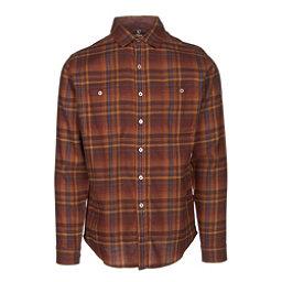 KUHL Fugitive Mens Flannel Shirt, Red Rock, 256