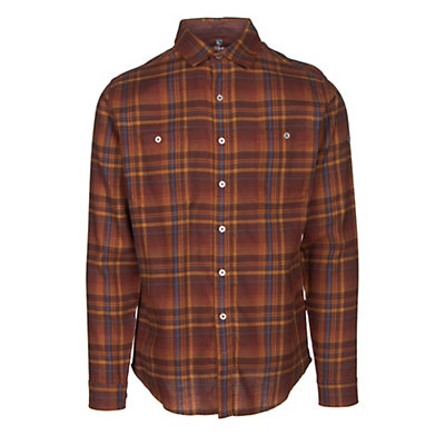 KUHL Fugitive Mens Flannel Shirt, Mint Chocolate Chip, viewer